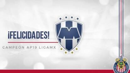 Desde Tigres hasta la FIFA pasando por los Sultanes de Monterrey, todos celebran al nuevo monarca del futbol mexicano.