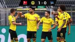 Borussia Dortmund se pone a siete puntos del líder en la Bundesliga