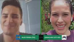¡De último minuto! Álex Perea le saca el empate a Ana Caty Hernández
