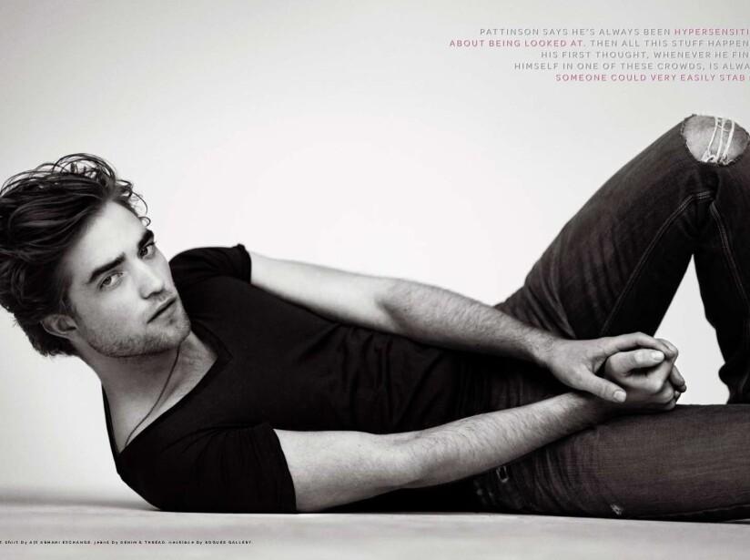 Robert Pattinson tiene un perro llamado Bear, a quien rescató de un refugio en el año 2011.