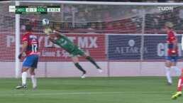 Raúl Gudiño se luce en su marco y evitan empate del Necaxa