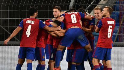 Frankfurt cayó ante Basel y se despide de la Europa League | El conjunto no pudo lograr la hazaña y el equipo suizo se medirá al Shakhtar en Cuartos de Final.