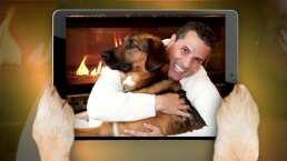 Marco Antonio Regil comparte en MMQH lo que significa su mascota Bernie para él