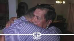 Hermanos Jiménez se reencontraron con sus padres tras más de 20 años