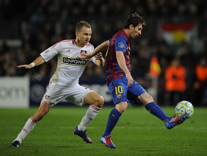 FC Barcelona v Bayer 04 Leverkusen - UEFA Champions League Round of 16