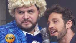 Mira el instante en el que Galilea le da un microfonazo a Lambda y Paul abandona 'enojado' la nueva sección de Hoy