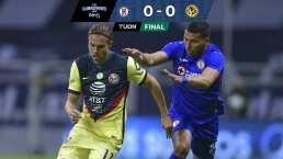 Cruz Azul 0-0 América | El Clásico Joven sin goles y muy accidentado