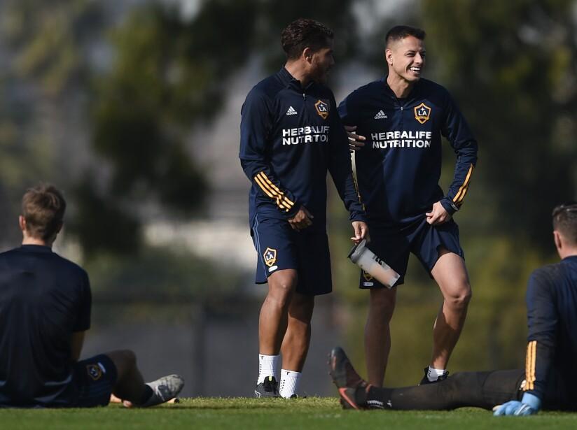 MLS Galaxy Hernandez Soccer