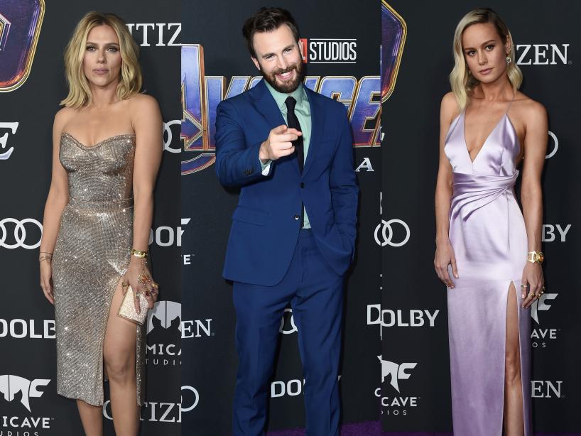 Los mejores vestidos durante el estreno de 'Avengers: Endgame'