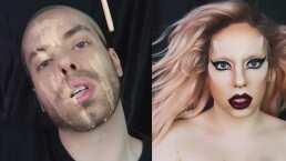 Drag Queen usa la magia del maquillaje y queda igualita a Lady Gaga