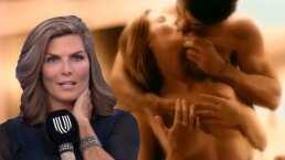 VIDEO: Montserrat Oliver recuerda lo que pasó tras grabar candentes escenas con Alejandro Fernández