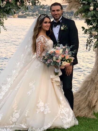 Dulce María y Paco Álvarez se casaron luego de tres años de noviazgo.