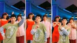El Chino obliga a bailar a Doña Lucha y a Rosa Aurora reto de TikTok