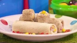 ¡Cocina para este regreso a clases!: Rollitos de atún con queso