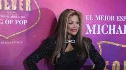 Famosos como Lety Calderón y Lola Cortés desfilaron en la alfombra roja de 'Forever King of Pop'