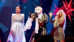 """Lechuza canta con Yuri y Natalia Jiménez """"Una mentira más"""" en la gran final de ¿Quién es la Máscara?"""