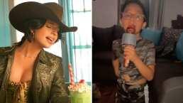 Niñita enternece a Ángela Aguilar al aparecer cantando 'En Realidad'
