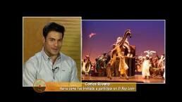 ¡Carlos Rivera confiesa cómo se preparó para interpretar a Simba!