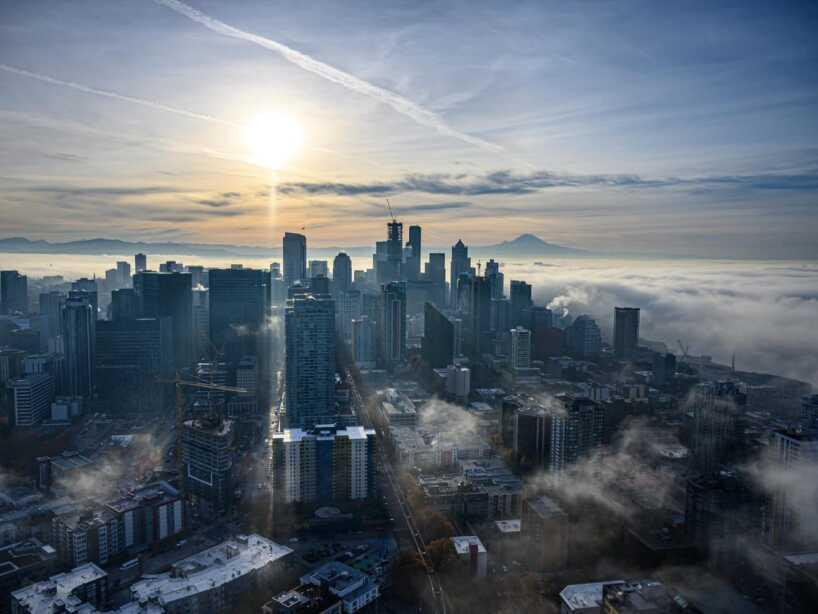 El calor de la final entre Seattle Sounders y Toronto ya se siente en las calles de la ciudad.