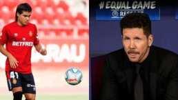 Simeone pide paciencia por debut de Luka Romero