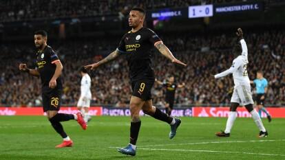 Con goles de Gabriel Jesus y Kevin De Bruyne gana el Manchester City en Madrid