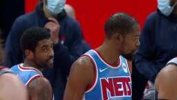 Kevin Durant hizo de todo pero cayeron en Washington