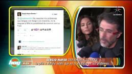 Sergio Mayer reacciona ante preguntas sobre video íntimo de su hijo
