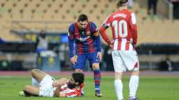RFEF no perdona a Messi tras manotazo