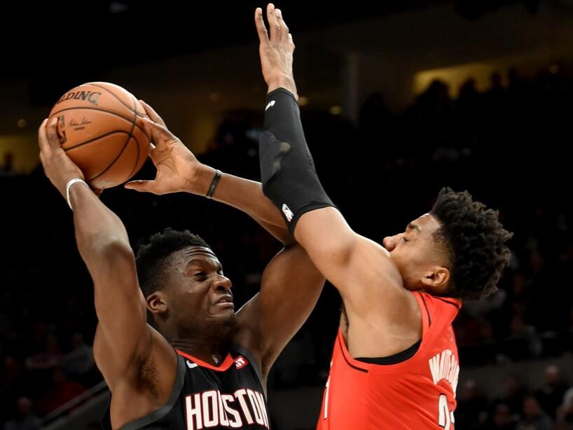 Rockets Trail Blazers Basketball