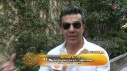 Adrian Uribe se dice soltero