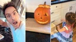 Mauricio Ochmann y Kailani comienzan los preparativos para festejar Halloween