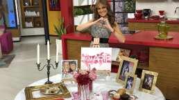 """""""Lúzete"""": Mesa romántica para el 14 de febrero con flores artificiales bajo el arte de amar"""