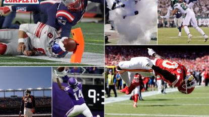 ¡No te las pierdas! Estas son las mejores tomas de todos los partidos de la NFL.