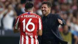 Asegura Simeone minutos a Héctor Herrera, pero no titularidad todavía
