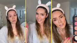 Marlene Favela sorprende al mostrarse sin una gota de maquillaje en tutorial de belleza