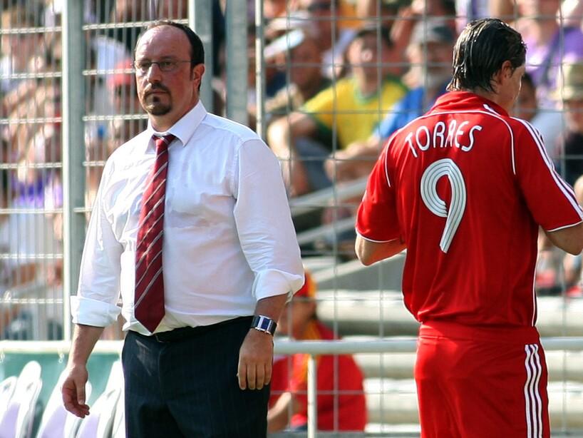 Rafa Benitez, Fernando Torres