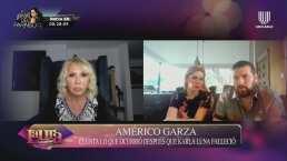 Tras la muerte de Karla Luna, Américo Garza asegura que lo quisieron alejar de sus hijas