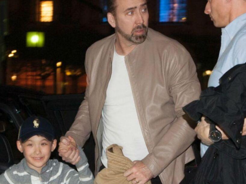 5. Nicolas Cage: El actor nombró a su hijo KalEl, el nombre en Kryptón de Superman. Ay no ma...