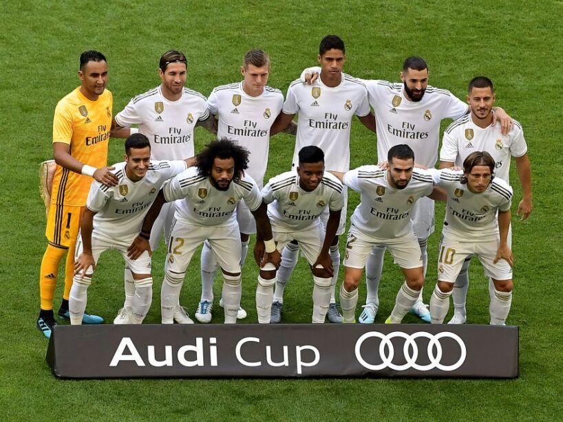 Este fue el once del Real Madrid para encarar la Copa Audi