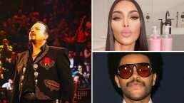 Kim Kardashian y The Weeknd son vecinos de Pepe Aguilar, así lo confirma el cantante de 'Prometiste'
