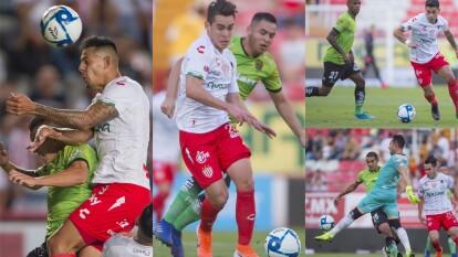 En partido de pocas emociones Necaxa y Juárez dividen puntos .