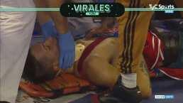 Tremendo KO en Argentina sobre Matthysse que salió en camilla y collarín