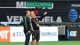 Martino y Torrado han aconsejado al 'Chucky' ante problemas en Napoli