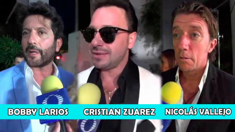 Cristian Zuárez, Nicolás Vallejo Nájera y Bobby Larios ¿Juntos?