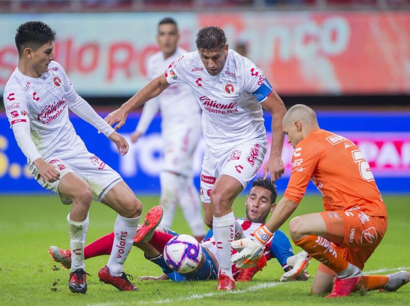 Guadalajara cae en casa por la mínima diferencia y duerme en la posición 16 de la tabla general.