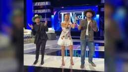 Ángela y Leonardo Aguilar ponen a bailar a Omar Chaparro y lo hacen al ritmo de 'En Realidad'