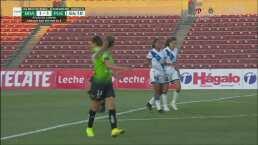 ¡Cómo la falla! Andrea Ortega deja escapar la ventaja para Puebla