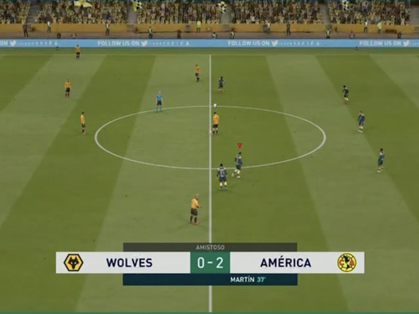 eAmistosos, Wolves vs América, 8.png