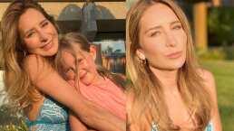 Geraldine Bazán donará ropa de su hija Miranda y la pequeña explica a quién le gustaría dársela