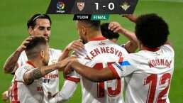 Sevilla se lleva el Derby ante el Betis de Guardado y Lainez